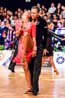 2012 European Youth Latin © Marius Mutin