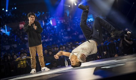 Breaking RB BC One © Red Bull