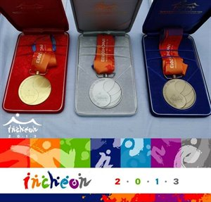 Incheon 2013 Medals