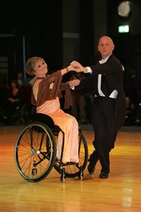 Wheelchair DanceSport Combi © Ronda