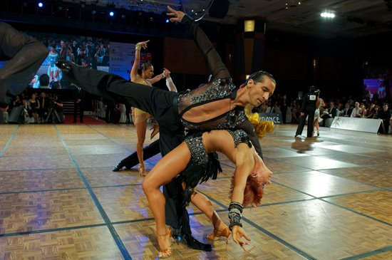 2011 WDSF World Latin Finalists © Roland