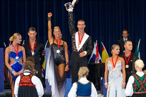 2012 World Ten Dance | Podium © Roland