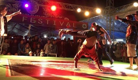 B-Boying in Bhutan