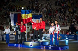 The World Games 2013 Latin Podium © Roland