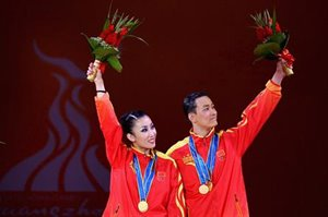 Chinese DanceSport gold at Asian Games © 2010 Asian Games