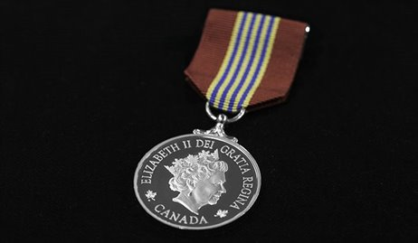 The Sovereign's Medal for Volunteers
