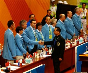 2010 Asian Games Adudicators © Fam