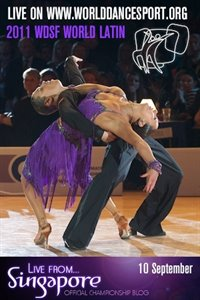2011 WDSF WORLD LATIN BLOG