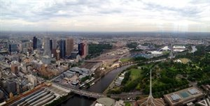 From Eureka Tower Skydeck 88