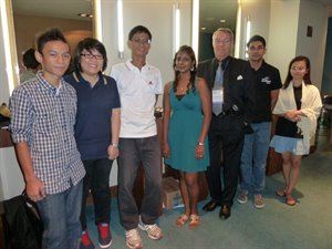 The Singapore Anti-Doping Testing team