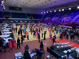 National competitions at Sala Polivalenta, Bucharest