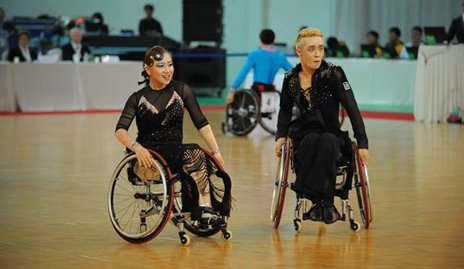 2014 Incheon Wheelchair DanceSport © IPC/APG