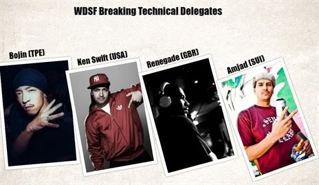 2019 WDSF Breaking World Championship Technical Delegates