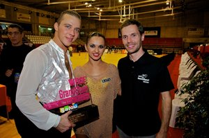 Ferran Castañer with Andrey and Anna © Roland