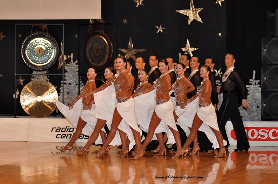 2011 WDSF World Latin Formation © Vytautas Kielaitis