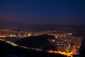 Velenje by night!