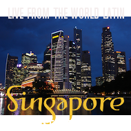 Live from Singapore!