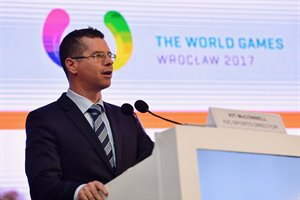 IOC Sports Director McConnell ©GAISF