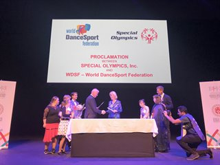 WDSF and the Special Olympics reach an agreement