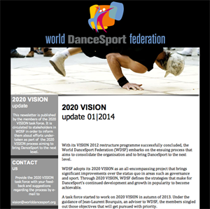 2020 VISION update