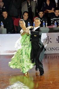 2009 IDSF Grand Slam Final © Xinhua/Guo Changyao