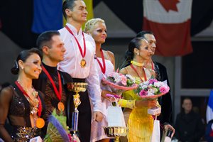 Podium World Senior I Ten Dance