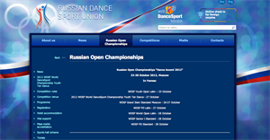 Russian Open Championships 2012