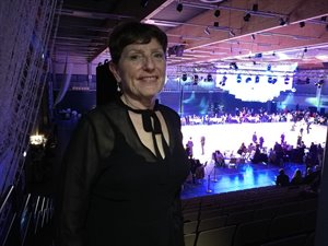 Mrs. Karen Pedersen, the President of the Danish DanceSport Federation